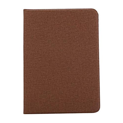 RZL PAD & TAB cases For iPad Pro 12 9 12.9, Cloth pattern PU Leather Flip Tablet Case Stand Shell TPU Back Cover for iPad Pro 12 9 12.9 2020 2018 (Color : Brown, Size : For iPadPro12.9 2020)