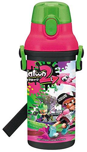 Skater Water Bottle for Children (480ml) Splatoon 2