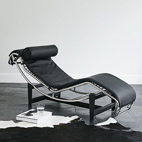 Le Corbusier LC4, Chaise Longue nero