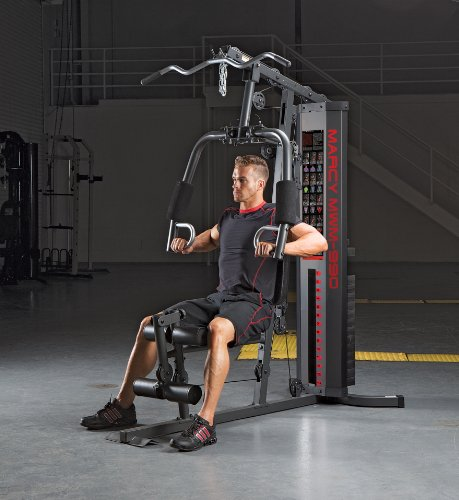 Marcy 150-lb Multifunctional Home Gym Station for Total Body Training MWM-990