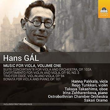 Gál: Music for Viola, Vol. 1