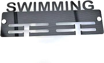 Servewell zwemmen medaille Hanger Latte