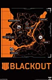 Trends International Call of Duty: Black Ops 4 - Blackout Map Wall Poster, 22.375' x 34', Unframed Version