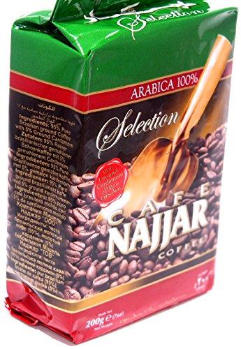 Najjar 100% ARÁBICA Café con cardamomo molido 200g (1 Pack)