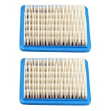 Harbot (Pack of 2) Flat Air Filter for Troy Bilt TB466 TB210 TB230 TB110 TB280ES TB320 TB380 TB380ES TB672 TB449E TB270ES TB866XP TB566 Lawn Mower