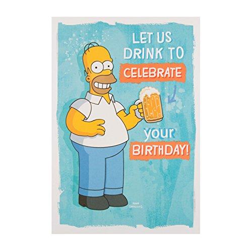 Hallmark Geburtstagskarte für 25488977Simpsons