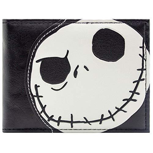 Tim Burton Nightmare Before Christmas Geprägte Jack Skellington Schwarz Portemonnaie Geldbörse