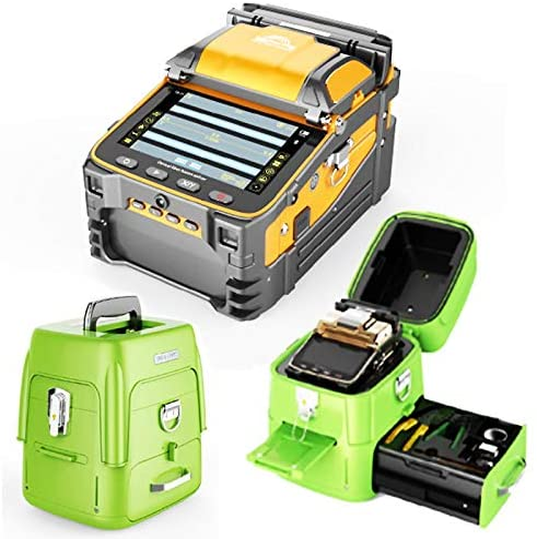 Qiirun Bargain sale AI-9 Fusion Splicer Toolbox Automatic with San Antonio Mall and Focus Kit