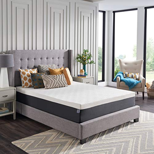 Sealy - Hybrid Bed in a Box - 12 Inch, Medium Feel, Queen Size, CopperChill Technology, CertiPur-US Certified