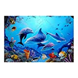 MMLXHH Poster Leinwand Bilder Home Decor 1 Stück Blue