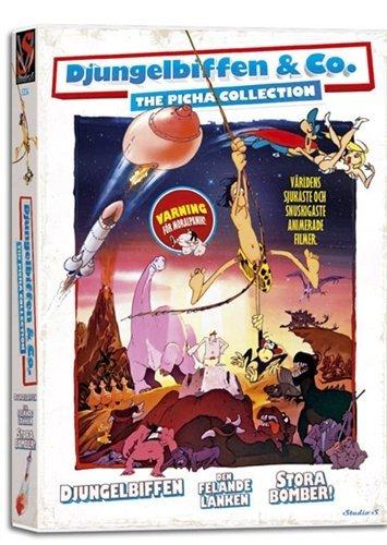 The Picha Collection - 3-DVD Box Set ( Tarzoon, la honte de la jungle / Le chaînon manquant / Le big-Bang ) ( Shame of the Jungle / The Miss [ Origine Danese, Nessuna Lingua Italiana ]