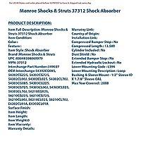 Monroe 37312 OEスペクトラムトラックショック
