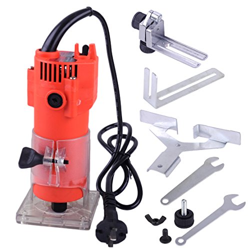 220V 300W 30000RPM madera borde Trim Router Clean Cuts Power Tool Set