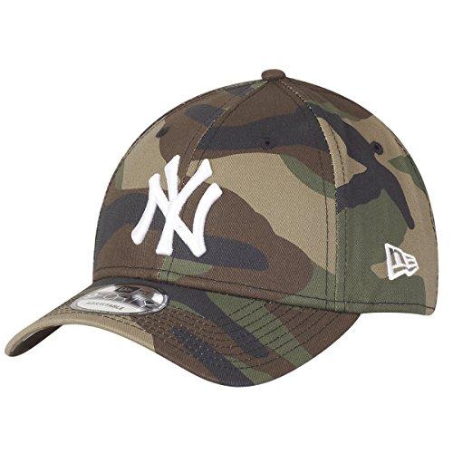 New Era Uomo Essentials York Yankees 9forty Capellino Da Baseball - Mimetico, Regolabile