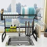 COVAODQ , Escurreplatos sobre fregadero, gran capacidad para la cocina, organización de...