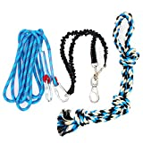 A Durable Dog Rope Toy for Pitbull & Medium to Large Dogs Outdoor Exercise, Pull & Tug of War Toy- Muscle Builder …