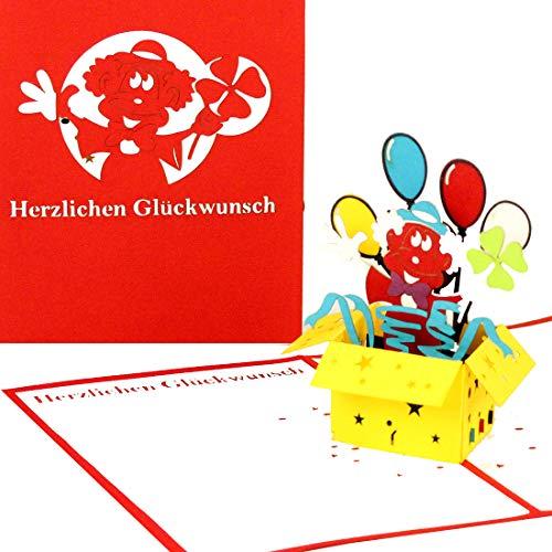 3D Geburtstagskarte