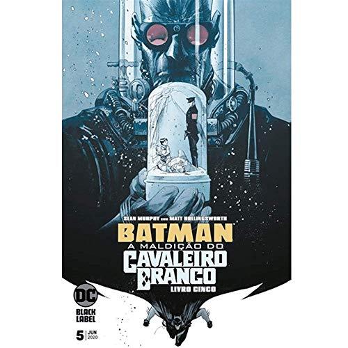 Gibi Batman A Maldição do Cavaleiro Branco livro 5