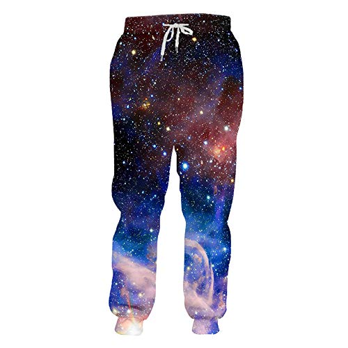 CFWL Pantalones Deportivos para Hombre con Estampado De Estrella En 3D Elasticos Mujer Talla Grande Pantalones El Ganso Hombre Pantalones Elasticos Pantalones Elasticos Mujer Vaqueros