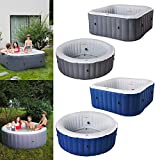 Best Hot Tubs - MSPAUK LS04U-NA Mspa Portable Hot Tub Lite Square Review