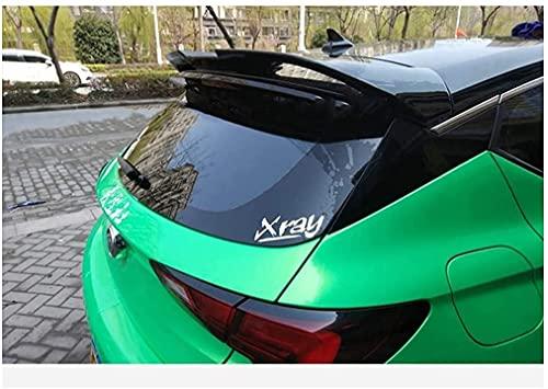 ABS Coche Tronco Alerón Trasero para Buick Verano GS Spoiler 2015 2016,Alerón Trasero de la Tapa del Maletero del Coche Cola Lip Techo Ala AleróN Accesorios De Peinado Modificados
