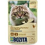 Bozita Pouch Häppchen in Soße mit Hühnchen | 12 x 85g Katzenfutter