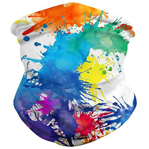 Spreadhoodie Original Multifunktionstuch - Outdoortuch- Nahtloses Schlauchtuch, Halstuch, Schal, Kopftuch, Stirnband, Unisex, Lustig Tuch Halsschlauch Halstuch mit Motiv