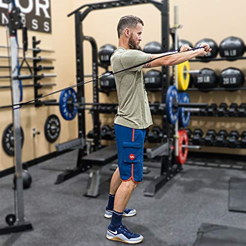 Valor Fitness PRB-Set Resistance Band for Pull Ups, Bench Presses, Squats, Deadlifts, and More