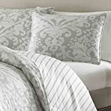 Stone Cottage Camden Duvet Set, King, Gray