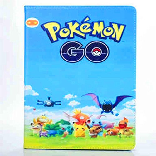 iPad Mini Case, Phenix-Color Pokemon Go Premium Flip Stand PU Leather Shell Case for Apple iPad Mini 1 2 3 (#11)