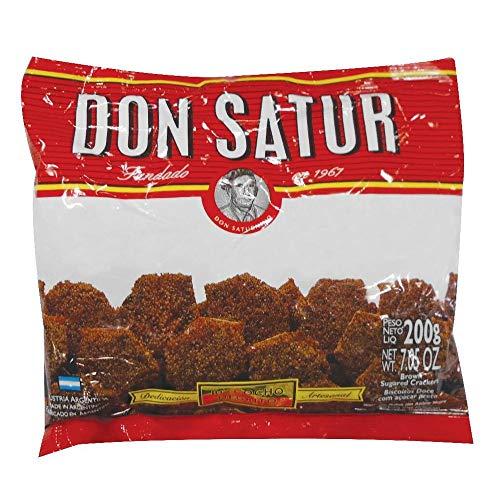 Don Satur - Torta Nera - Biscotti Dolci - Tipici dell'Argentina - Confezione da 3 - 200 Grammi