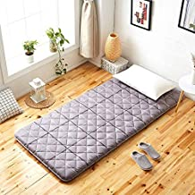 Futon mattressTatami Floor mat,Dorm Mattress [Japanese-Style] Cotton-C 150x200cm(59x79inch) (Color : C, Size : 90x190cm(35...
