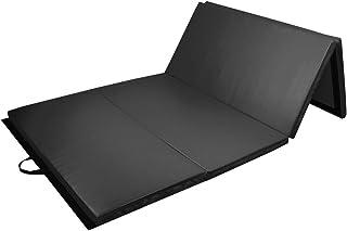 Prime Selection Products Colchoneta de Gimnasia 300 cm Plegable de Suave Espuma antiderrapante para Ejercicio Fitness y Gimnasia en Interiores y en casa; Largo: 300cm, Ancho: 120cm, Grueso: 5cm