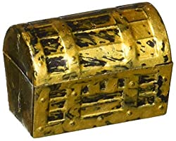 gold treasure chest party favors