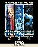 Nemesis: Sequel Trilogy (Nemesis 2: Nebula / Nemesis 3: Time Lapse / Nemesis 4: Cry of Angels) [Blu-ray]