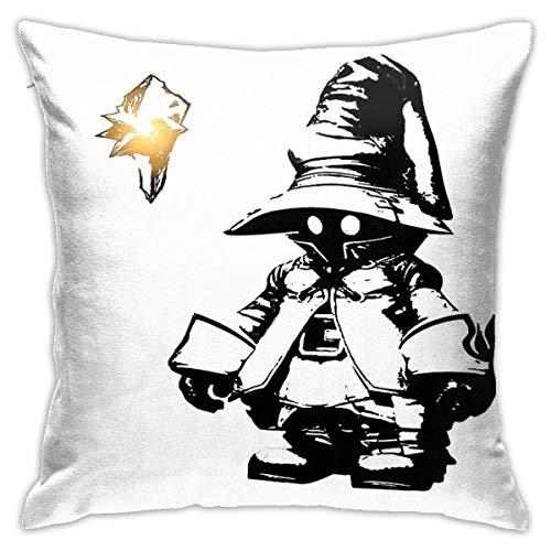 N/A VIVI Ornitier Final Fantasy IX Cushion Throw Pillow Cover Decorative Pillow Case For Sofa Bedroom 18 X 18 Inch