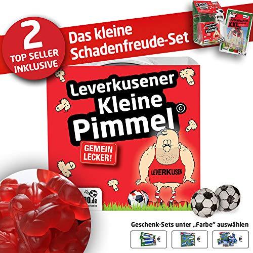Bayer Boxershorts ist jetzt KLEINE PIMMEL Set 1: KLEINE Schadenfreude by Ligakakao.de schwarz-rot männer Shorts Unterhosen