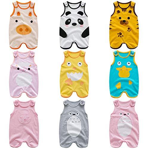 Unisex Baby Schlafsack Tier Schlafsack Baumwolle Cartoon Qile Rabbit Schlafsack @ Yellow Dragon Cat_66Cm (66/44 (Höhe 66-73Cm) Weiche Und Bequeme Baby Swaddle