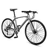 NENGGE 30 Vitesses Vélos de Route, Hommes Femmes Cadre en Alliage Vélo Ultraléger, Double Frein...