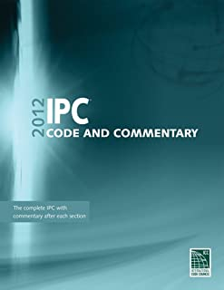 IPC Code and Commentary 2012 (International Code Council Series)