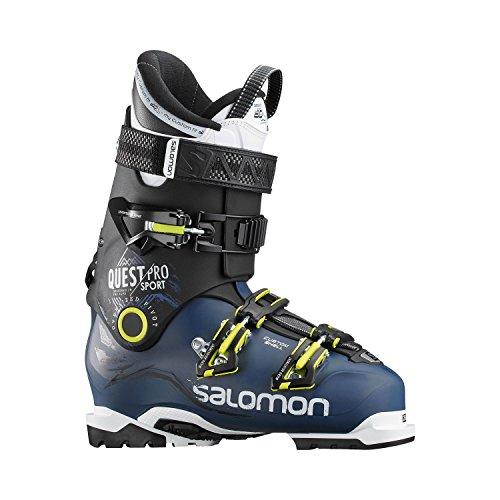 Salomon Herren Ski-Stiefel Quest Pro CS 100 Skistiefel, Blau/Schwarz/Grün, 27.5