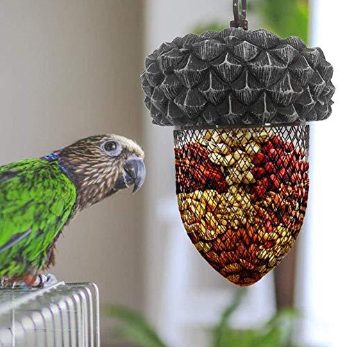 Jiacheng29_ Mangeoire à suspendre pour oiseaux et perroquets