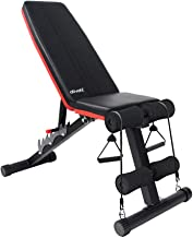 Ativafit Adjustable Weight Bench for Full Body Workout Multi-Purpose Utility Weight Bench Foldable Flat Bench Press for Ho...