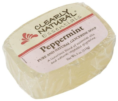Clearly Natural SOAP, paquet GLYCéRINE PEPPERMINT 5