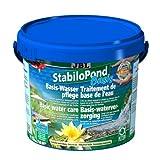 JBL StabiloPond Basis 7002273 Basis-Wasserpflegemittel für alle Gartenteiche, 5kg