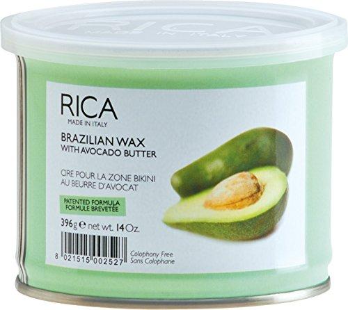Rica Brazilian Body Hard Wax - Enthaarung - Haarentfernung - Enthaarungswachs für Intimbereich und Achseln