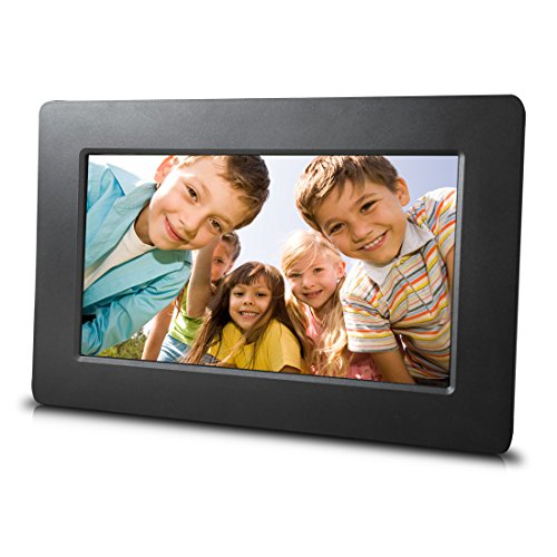 Digital Photo Frame Ultra-thin Narrow Side 12 Inch Digital Picture Frame 800600 Pixels High Resolution LED Screen 1080P HD Video Playback Auto On//Off Timer Remote Control Included for Pictures and Vi
