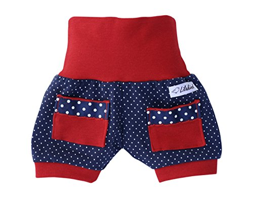 "Lilakind"" Kurze Baumwoll Sommer Pumphose Shorts Buxe Sommerhose - Made in Germany Gr. 98/104"