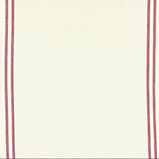 Moda Fabrics Toweling 16 inches Wide Cotton Red Blue Border Cream