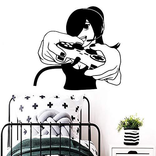 Tianpengyuanshuai Schoonheid Games computerspel wandsticker mode woonkamer slaapkamer wandsticker behang